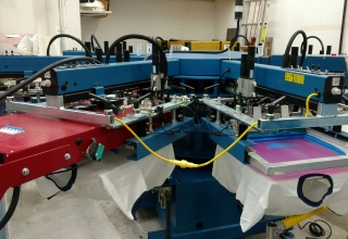 Contact us about our Custom Screen Printing
